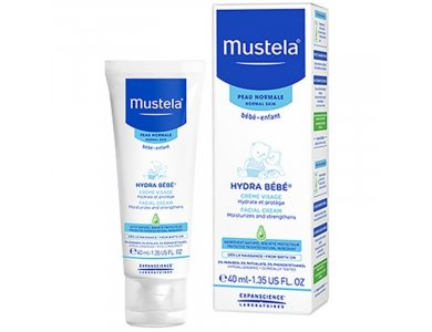 MUSTELA HYDRABEBE FACIALCREAM 40ML