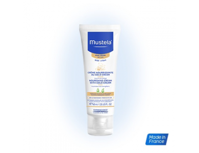 MUSTELA NOURISHING CREAM + COLD CREAM 40ML