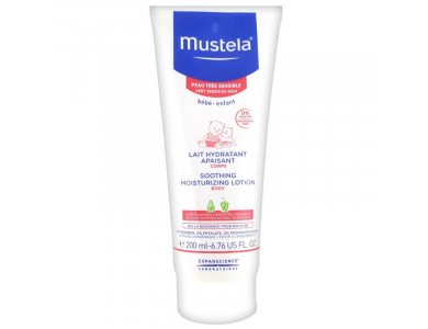 MUSTELA SOOTHING MOISTURIZING LOTION BODY 200ML