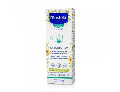 Mustela Stelatopia Emollient Cream, Μαλακτική Κρέμα, 200 ml