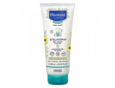 Mustela Stelatopia Cleansing Gel Αφροντούζ για Σώμα & Μαλλιά 200ml
