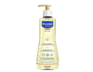 Mustela Stelatopia Cleansing Oil, Λάδι Καθαρισμού, 500ml