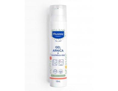 MUSTELA Arnica & Calendula gel, Καταπραϋντικό & Επουλωτικό Τζελ με Καλέντουλα, 100ml
