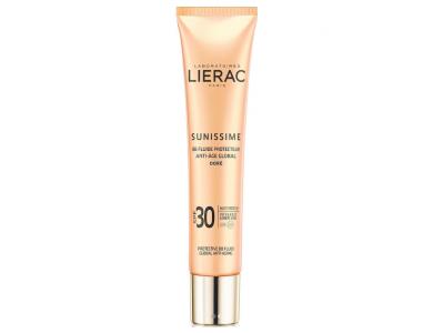 Lierac Sunissime BB Fluide Protecteur Anti-Age Global SPF30 Dore Αντηλιακή/Αντιγηραντική Κρέμα με Χρώμα, 40ml