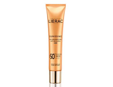 Lierac Sunissime BB Fluide Protecteur Anti-Age Global SPF50 Dore Αντηλιακή/Αντιγηραντική Κρέμα με Χρώμα, 40ml
