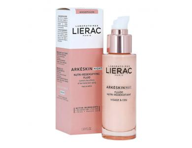 Lierac Arkeskin Night Nutri-Redensifying Fluid Λεπτόρευστη Κρέμα Νύχτας για Θρέψη & Επαναπύκνωση, 50ml