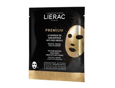 Lierac Premium Absolute Anti-Aging Gold Mask, Αντιγηραντική Χρυσή Μάσκα, 20ml