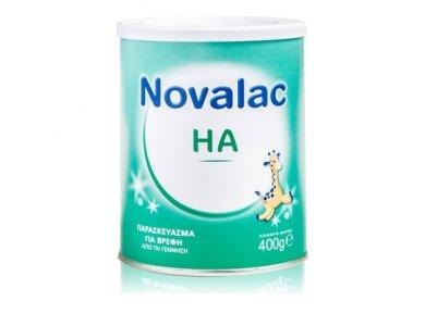 Novalac HA Παρασκεύασμα για Βρέφη από την Γέννηση, Πρόληψη Αλλεργίας με Πολύ Καλή Γεύση 400gr