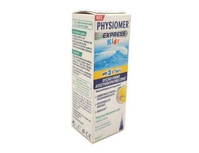 Physiomer Express Kids Φυσικό Ρινικό Αποσυμφορητικό από 3 ετών 20ml
