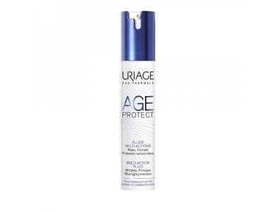 Uriage Age Protect Multi-Action Fluid Cream, Κρέμα Πολλαπλών Δράσεων για Κανονικές/Μεικτές Επιδερμίδες, 40ml