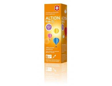 Altion Kids D3 400IU Συμπλήρωμα Διατροφής με Βιταμίνη D3 για Βρέφη & Παιδιά, 20ml