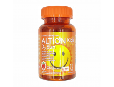 Altion Kids D3 Sun Παιδικό Συμπλήρωμα Διατροφής με Βιταμίνη D3