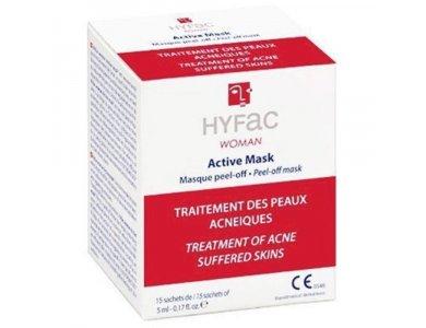 Hyfac Woman Active Masque 15 φακελάκια x 5ml, Θεραπεία για την Αντιμετώπιση του Ακνεικού Δέρματος