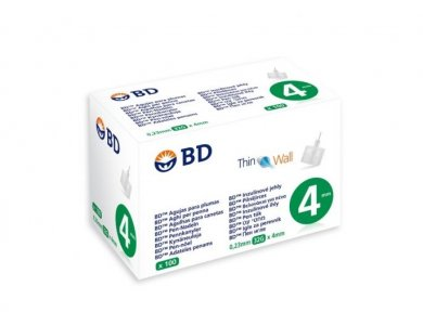 BD MICROFINE ΒΕΛΟΝΕΣ ΓΙΑ ΠΕΝΝΕΣ 0.23mm (32G) 4mm X100
