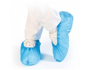 Ποδονάρια πλαστικά SYNDESMOS, μιας χρήσης, 100 τεμάχια