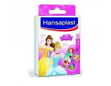 Hansaplast Princess Kids Παιδικά Αυτοκόλλητα Τσερότα 20Strips