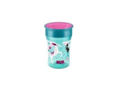 Nuk Magic Cup με Καινοτόμο Χείλος 250ml Μπλε, 8m+