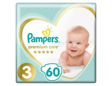 Pampers Jumbo Premium Care No3 (6-10kg) 60 τμχ