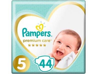 Pampers Jumbo Premium Care No5 (11-16kg) 44τμχ