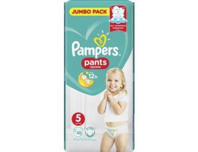 Pampers Jumbo Pack Pants, No 5 (12-17kg) 48τμχ