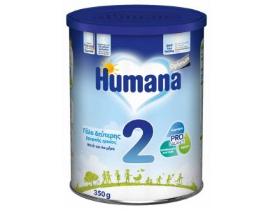 HUMANA 2 Γάλα για βρέφη 350gr