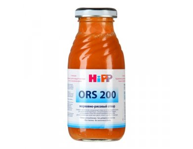 HIPP ORDS ΧΥΜΟΣ ΕΠΑΝΕΝΥΔΑΤΩΣΗΣ ΚΑΡΟΤΟΥ ΜΕ ΡΥΖΙ 0,2L