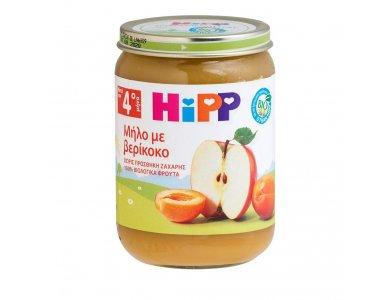 HiPP Φρουτόκρεμα Μήλο με Βερίκοκο από τον 4ο Μήνα 190gr
