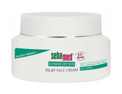 Sebamed Extreme Relief Face Cream Urea 5%, Καταπραϋντική Κρέμα Προσώπου, 50ml