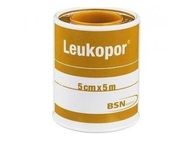 BSN Medical Leukopur 5cmx5m Αυτοκόλλητη Επιδεσμική Ταινία 1Τμχ