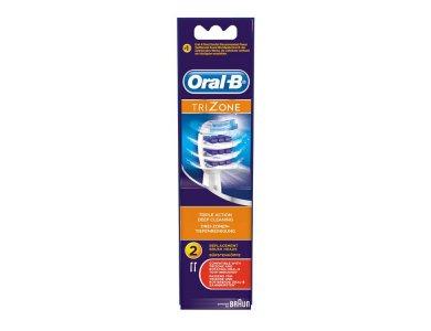 Oral-B Trizone Ανταλλακτικό Ηλεκτρικής Οδοντ. 2τμχ