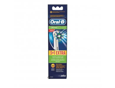 ORAL B Ανταλλακτικές Κεφαλές Cross Action 3+1 ΔΩΡΟ
