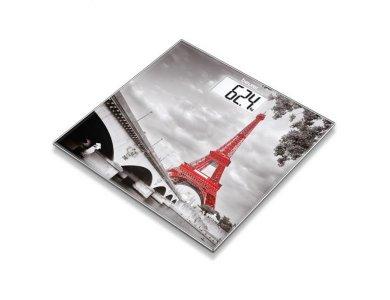 BEURER Γυάλινη Απλή Ψηφιακή Ζυγαριά GS 203 Paris