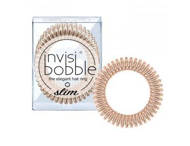 Invisibobble Slim Bronze Me Pretty 3τμχ