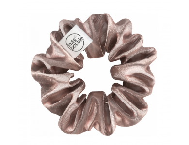Invisibobble Sprunchie Satin Pink, Λαστιχάκι μαλλιών με ύφασμα βελούδινης υφής, 1τμχ