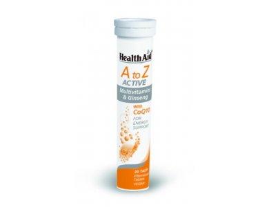 HEALTH AID Α-Ζ ACTIVE MULTIVITAMINS+Q10 20TABS