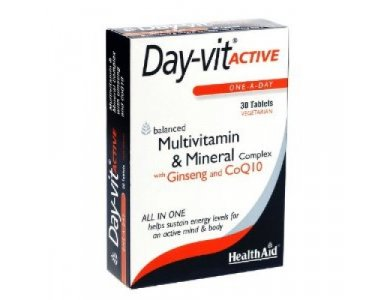 HEALTH AID DAY VIT ACTIVE 30TABS