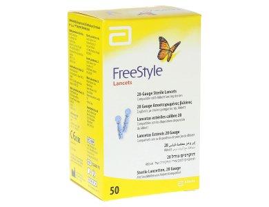 Abbott Freestyle Lancets (Mmedisence Thin), 50 Βελόνες Μέτρησης Σακχάρου