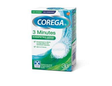 COREGA 3 MINUTES 36 TABLETS