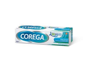 Corega Neutral 3D Hold. Στερεωτική Κρέμα Οδοντοστοιχιών, 40gr