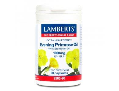 LAMBERTS EVENING PRIMROSE OIL & STARFLOWER 90CAPS