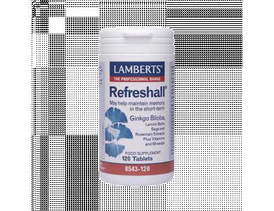 LAMBERTS Refreshall 120 ταμπλέτες
