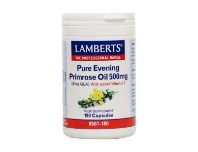 LAMBERTS EVENING PRIMROSE OIL 500MG 180CAPS