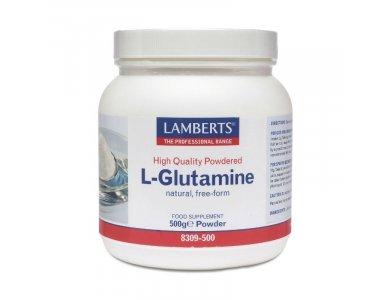 Lamberts L- Glutamine Powder, Γλουταμίνη σε σκόνη, 500gr