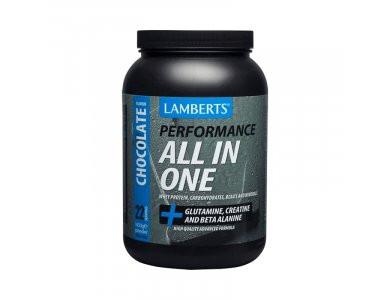 Lamberts Performance All-In-One Whey Protein CHOCOLATE, Πρωτε?νη Ορού Γάλακτος με Γεύση Σοκολάτα, 1450gr