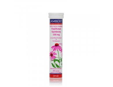 Lamberts Echinacea Εχινάκεα 20 Αναβράζοντα Δισκία 150mg