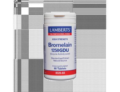 Lamberts Bromelain 500mg (1250 GDU), 60tabs