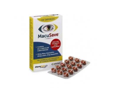Optisharp Macu-SAVE Συμπλήρωμα Διατροφής για τα Μάτια, 30caps