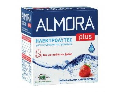 Almora Plus, Ηλεκτρολύτες για Βρέφη & Παιδιά 12 Φακελλάκια