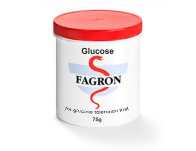 FAGRON Glucose For Glucose Tolerance Test 75gr - Γλυκόζη Σε 75γρ Για Καμπύλη Σακχάρου