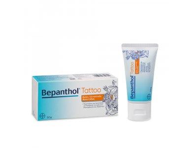 Bepanthol Tattoo Balm, Κρέμα Περιποίησης & Προστασίας της Περιοχής του Τατουάζ, 50gr